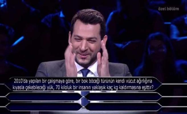 Kim Milyoner Olmak İster'de Murat Yıldırım'ı kahkahaya boğan soru