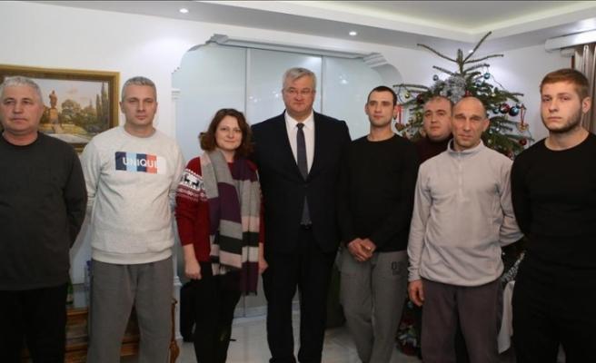 Kurtarılan Ukraynalı mürettebattan Türkiye'ye teşekkür