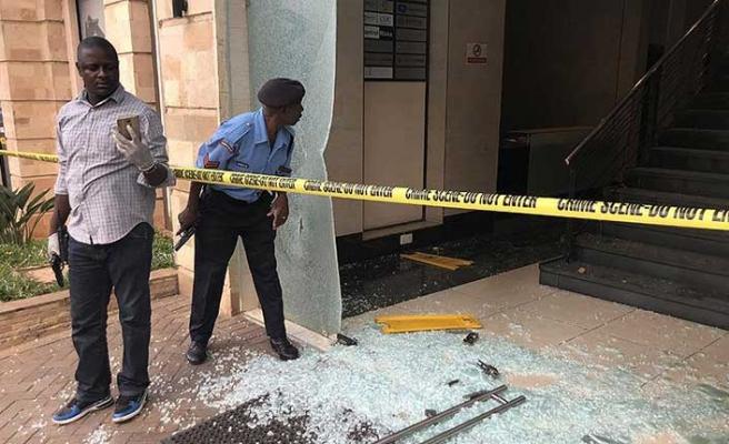 Lüks otele silahlı saldırı!