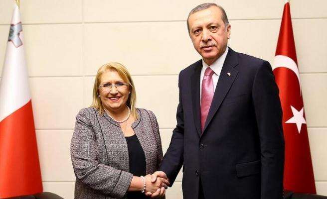 Malta Cumhurbaşkanı Preca Türkiye'ye gelecek