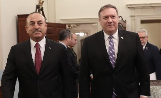 Pompeo ile Çavuşoğlu ABD'nin Suriye'den çekilme sürecini görüştü