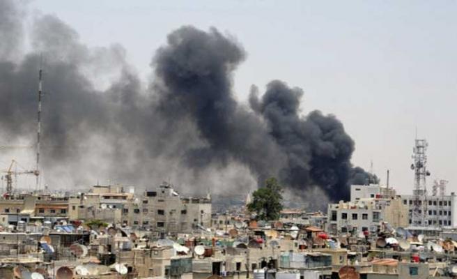 Şam'da patlama! Rusya Büyükelçiliği…