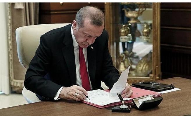 Cumhurbaşkanı Erdoğan'dan AYM üyeliğine atama