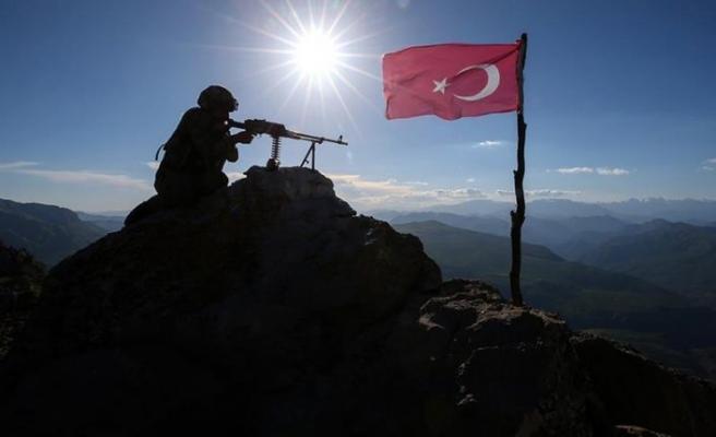 'Son bir haftada 43 terörist etkisiz hale getirildi'