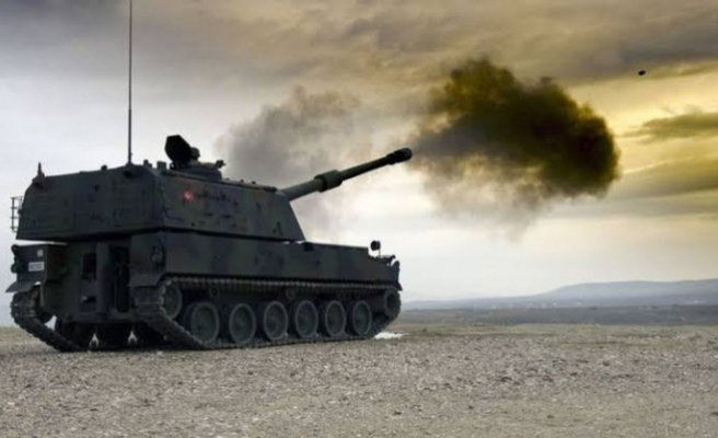 TSK, terör örgütü YPG'yi vurdu