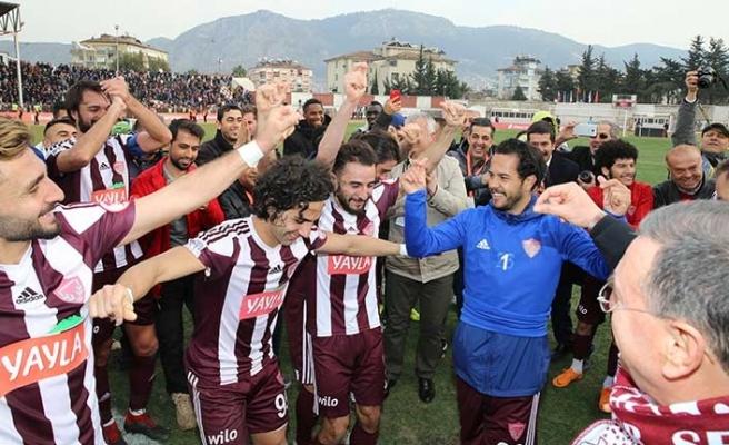 Türkiye Kupası'nda Hatayspor sürprizi... Başakşehir'e fark attılar