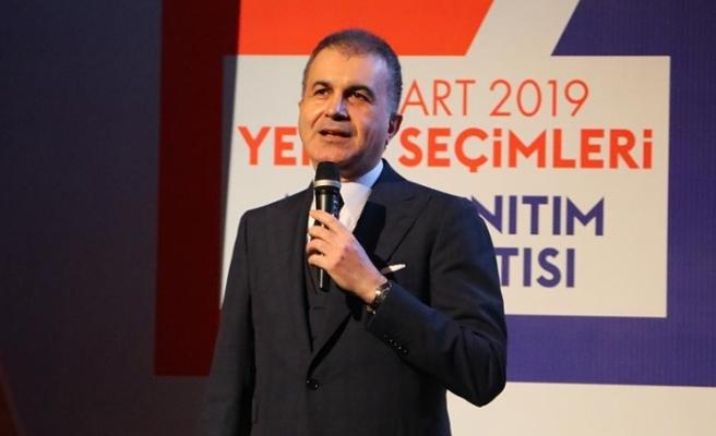 Çelik: Türkiye'nin geleceğinde söz söylemeye hakkı olan millettir