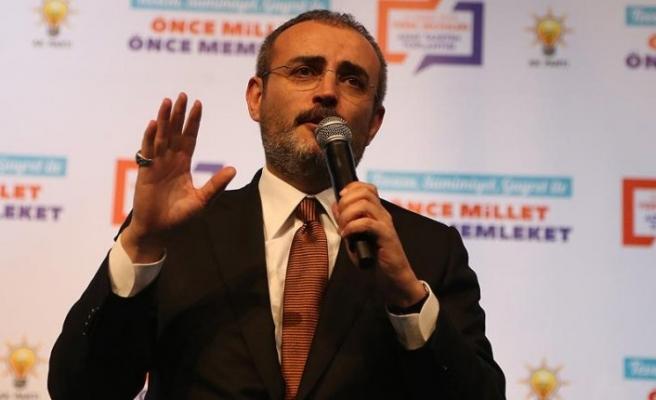 Ünal: Türkiye'ye tehdit oluşturan hiçbir terör unsurunu yaşatmayız