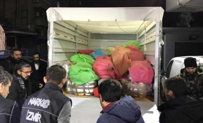 İzmir'deki uyuşturucu operasyonunda yeni gözaltılar