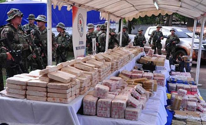 2 ton 200 gram! Paraguay'da yakalanan en yüksek miktar…