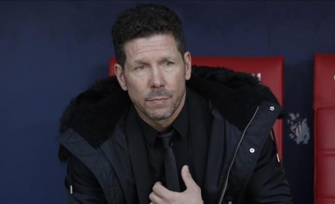 Atletico Madrid, Simeone'nin sözleşmesini 2022'ye kadar uzattı