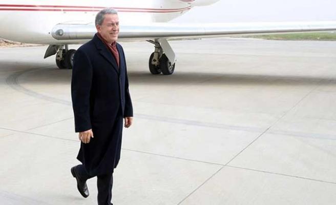 Bakan Akar, kritik toplantı için Brüksel yolunda