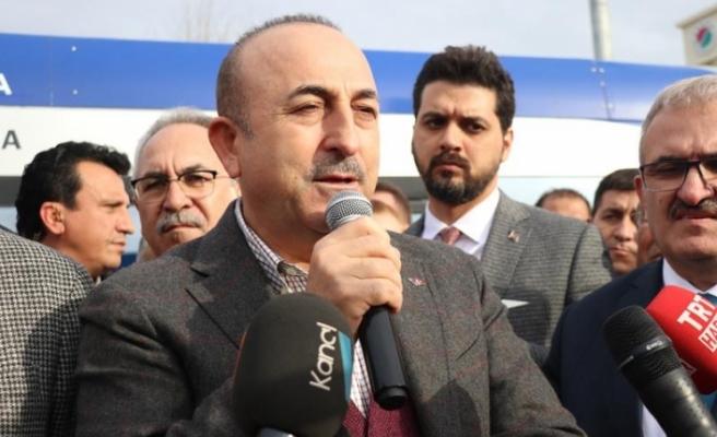 Çavuşoğlu: BM raportörünün bulguları bizim tespitlerimizle örtüşüyor