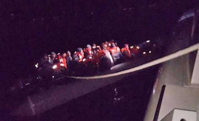 Çanakkale'de Afganistan uyruklu62 düzensiz göçmen yakalandı