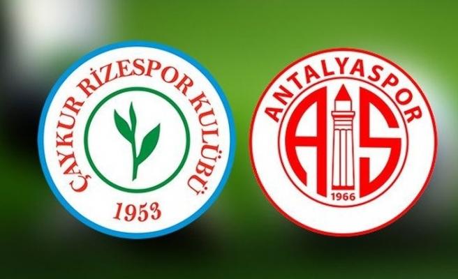 Çaykur Rizespor Antalyaspor canlı izle - Çaykur Rizespor Antalyaspor beIN Sports izle