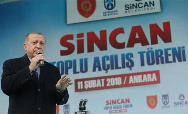 Cumhurbaşkanı Erdoğan: Türkiye'nin en büyüğü olacak