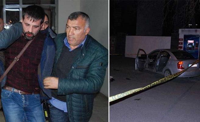 Kayseri'de devriye gezen polis aracına silahlı saldırı!