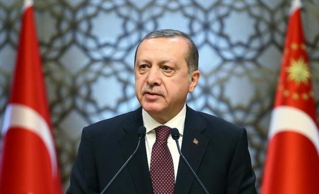 Erdoğan şehit polis Çelik'in ailesine başsağlığı diledi