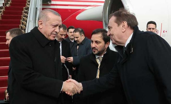 Cumhurbaşkanı Erdoğan, 4'üncü Üçlü Zirve Toplantısı için Soçi'de