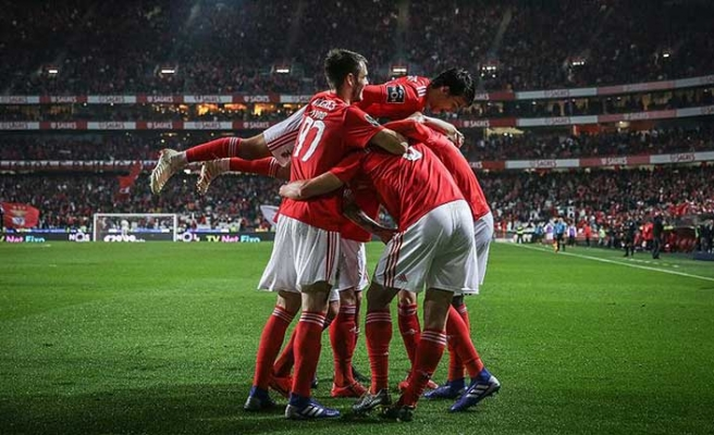 Galatasaray'ın Avrupa'daki rakibi Benfica'dan 10 gollü galibiyet