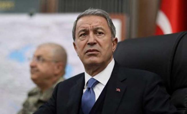 Bakan Hulusi Akar:  Güvenli bölgede sadece Türkiye olmalı
