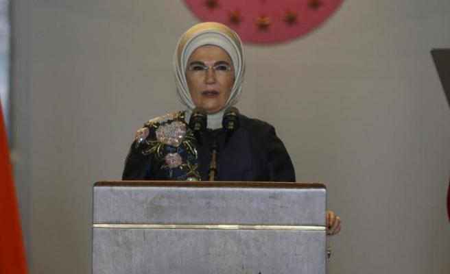 Emine Erdoğan: Kadınların, çocukların dertleri için kendimizi sorumlu hissediyoruz