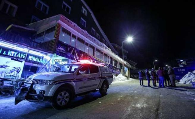Kayak merkezinde silahlı çatışma