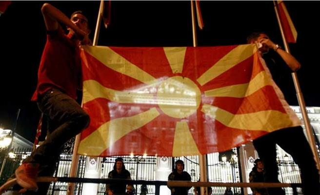 28 yıllık isim sorununu aşan Makedonya, NATO'ya katıldı