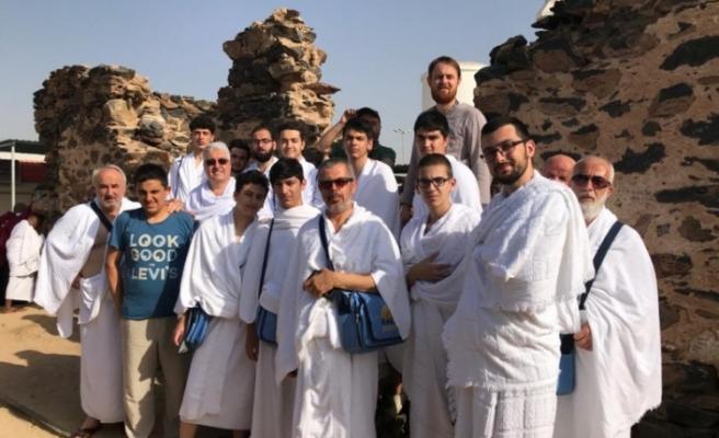 Marmara Anadolu İmam Hatip Lisesi'nden üç mescid üç cuma umre etkinliği