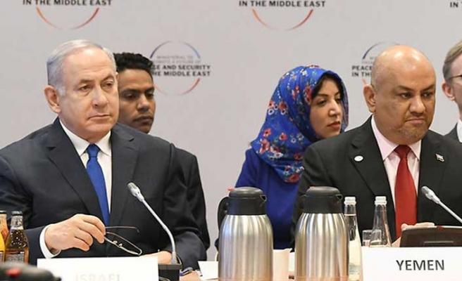 Netanyahu'nun yanında oturan Yemenli Bakandan tepkiler üzerine açıklama