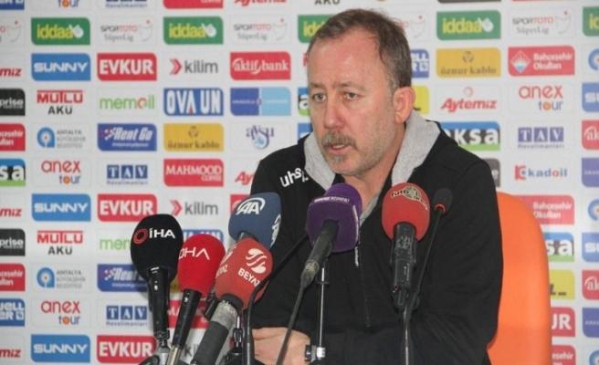 Sergen Yalçın Galatasaray maçı hakkında konuştu