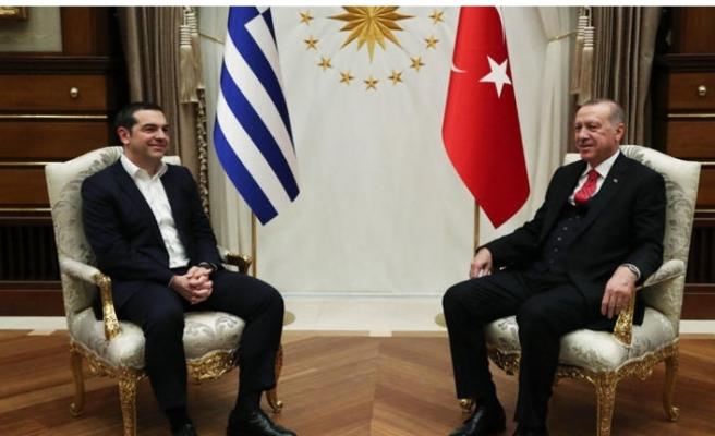 Erdoğan ve Çipras'tan önemli açıklamalar