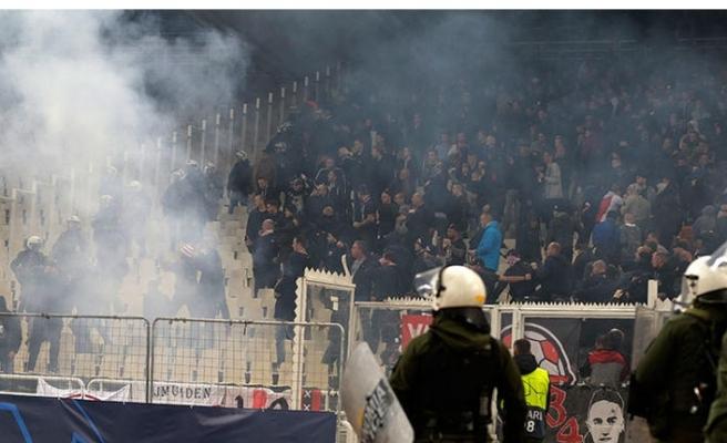 UEFA'dan AEK'ya men cezası