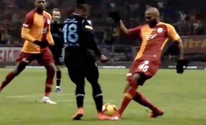 Galatasaray maçında Trabzonspor'dan penaltı isyanı!