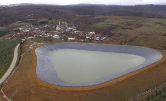 13 milyon liralık 6 göletin inşaatı tamamlandı