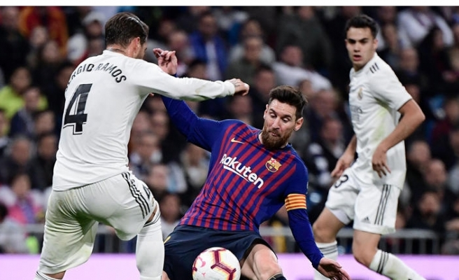 Barça'dan Real Madrid'e tek kurşun!