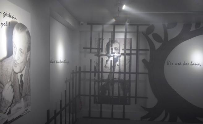 'Bir Şiir, Bir Hayat, Çile' sergisine yoğun ilgi