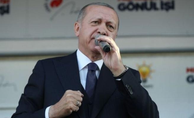 Cumhurbaşkanı Erdoğan: Bunların tek ittifakı ezan bayrak düşmanlığı