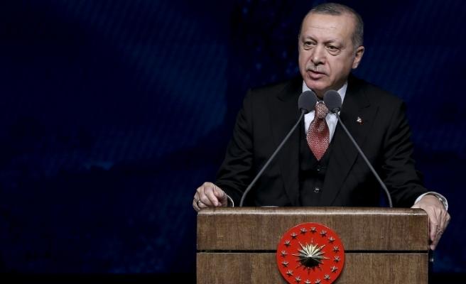 Cumhurbaşkanı Erdoğan'dan sporcu Elmaağaçlı'ya tebrik