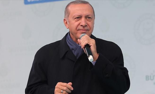 Cumhurbaşkanı Erdoğan: Günde 1 milyon 700 bin yolcu taşınacak