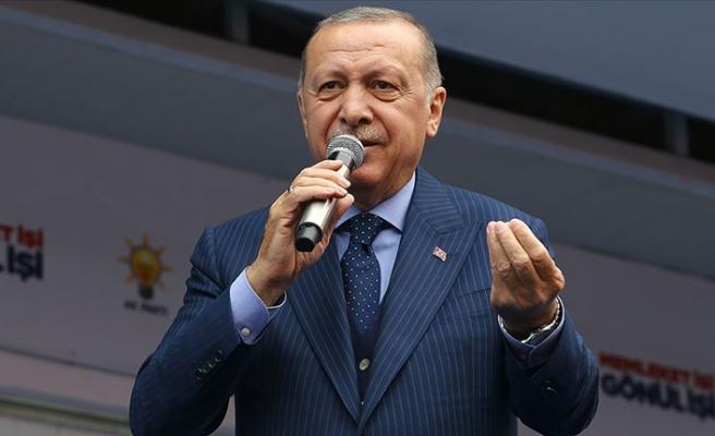 Cumhurbaşkanı Erdoğan: Alçaklara rağmen…