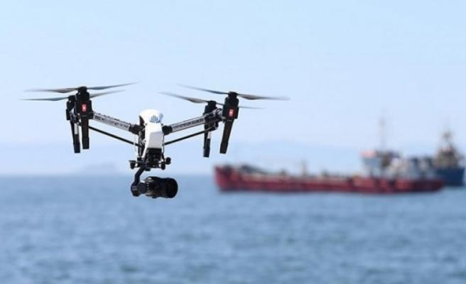 Denizi kirleten gemiler havadan tespit ediliyor