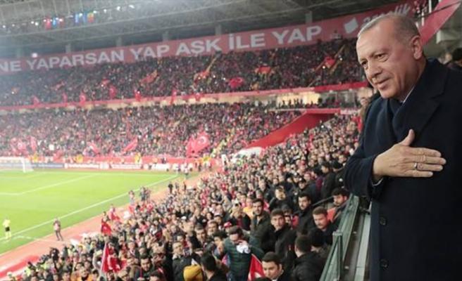 Eskişehir taraftarına Cumhurbaşkanı Erdoğan'dan müjde
