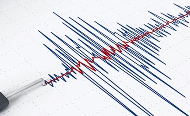 Akdeniz'de orta şiddette deprem