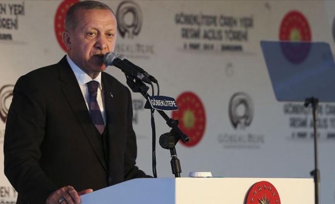 Cumhurbaşkanı Erdoğan: Hedefimiz bu yıl 50 milyon turisti geride bırakmak