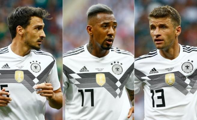 Hummels, Boateng ve Müller'e milli takım kapısı kapandı