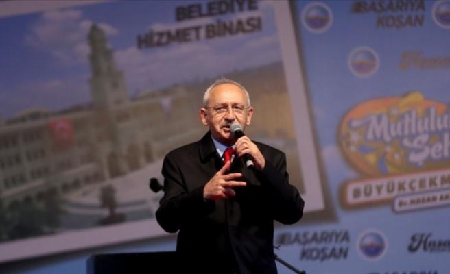 Kılıçdaroğlu tapu dağıtım ve toplu açılış törenine katıldı