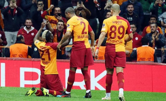 Ligin en golcü takımı Galatasaray'da aslan payı orta sahanın
