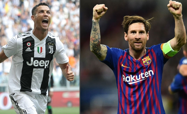 Messi'den Juventus'u çeyrek finale taşıyan Ronaldo'ya övgü!