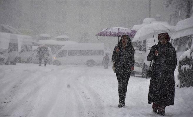 Meteoroloji'den hafta sonu için yoğun kar uyarısı